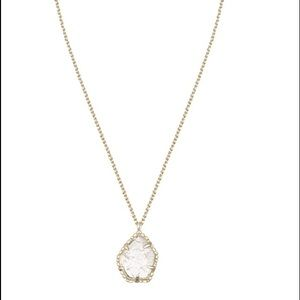 KENDRA SCOTT DRUSY CATHERINE PENDANT NECKLACE